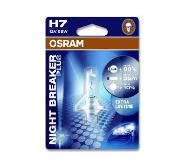 Osram Night Breaker Plus H7 Im Test Testberichte De Note