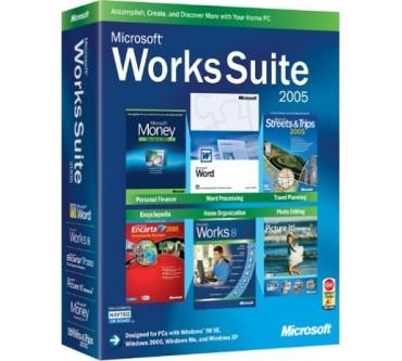 Works Suite 2005 Produktbild