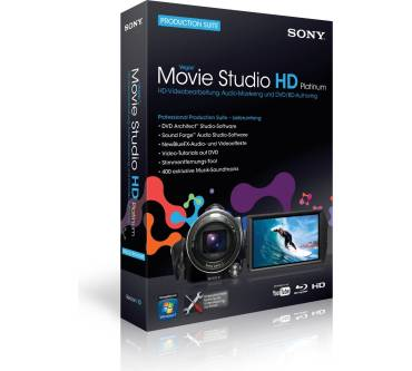 Vegas Movie Studio HD Platinum Production Suite Produktbild