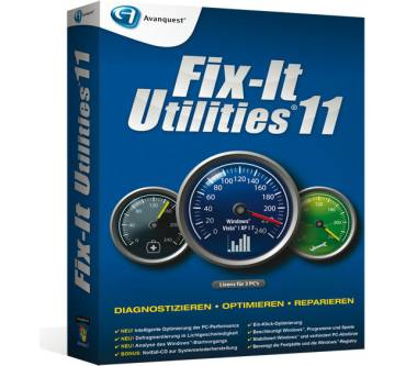 Fix-It Utilities 11 Produktbild