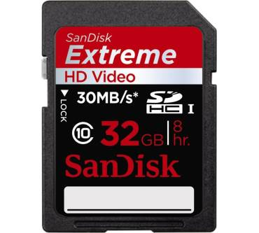Extreme HD Video SDHC Class 6 Produktbild