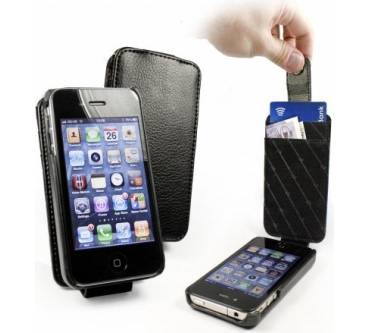 In-Genius Ledertasche (für Apple iPhone 4 / 4S) Produktbild