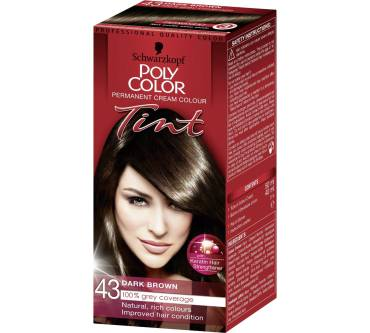 Poly Color Creme Haarfarbe Dunkelbraun 43 Test Testberichtede