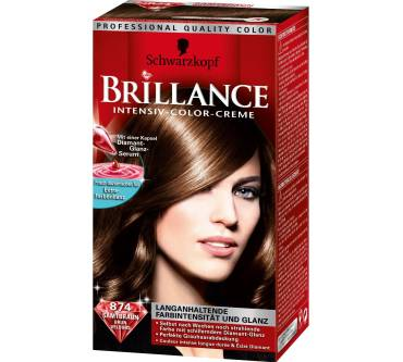Schwarzkopf Brillance Intensiv Color Creme Samtbraun 874 Test