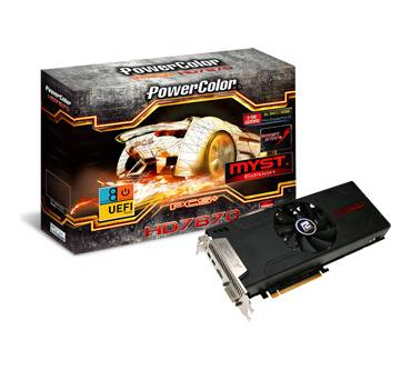 PowerColor Radeon HD 7870 PCS+ Myst Produktbild