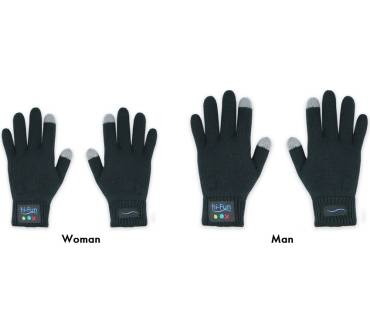 Handschuhe Damen HIFUN 13300 hi-Call Frau grau
