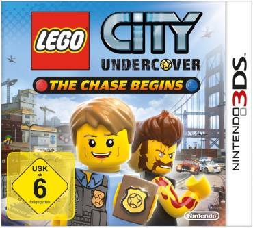 Lego City Undercover: The Chase Begins (für 3DS) Produktbild