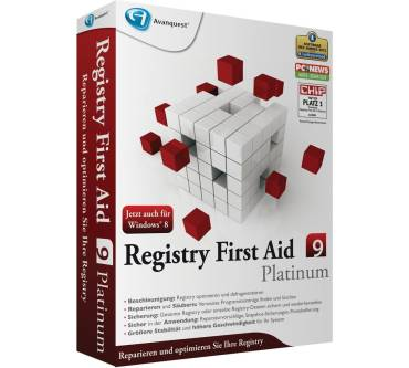 Registry First Aid 9 Platinum Produktbild