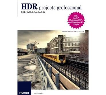 HDR projects professional Produktbild
