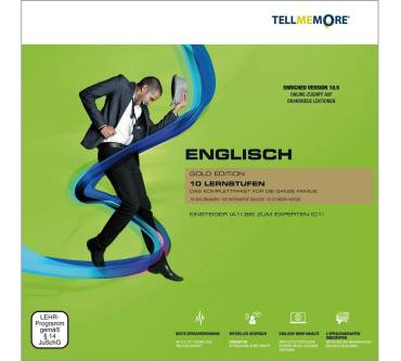 Tell Me More Englisch Gold Edition 10.5 Produktbild
