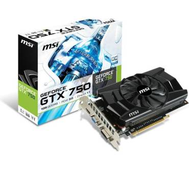 GeForce GTX 750 Produktbild