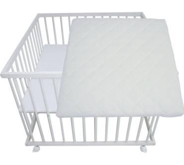 s mann kinderm bel laufgitter mit matratze 100 x 100 cm. Black Bedroom Furniture Sets. Home Design Ideas