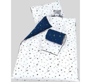 Dr Sonne Hallo Baby Bettwäsche Sterne Und Mond Blau Weiß Test