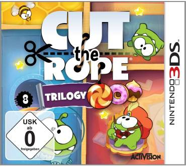 Cut the Rope Trilogy (für 3DS) Produktbild