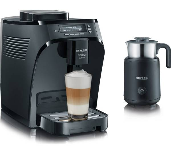 severin piccola induzio kv 8081 test kaffeevollautomat mit. Black Bedroom Furniture Sets. Home Design Ideas