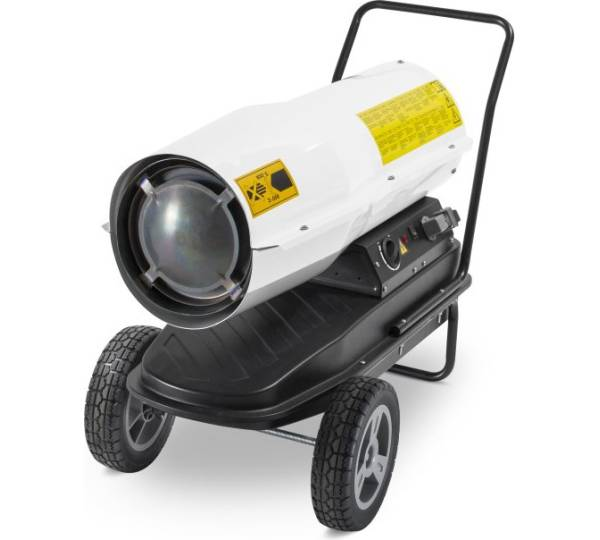 TROTEC IDE 50 Indirekt Ölheizer Heizkanone Heizgerät Bauheizer Zeltheizung 50 kW