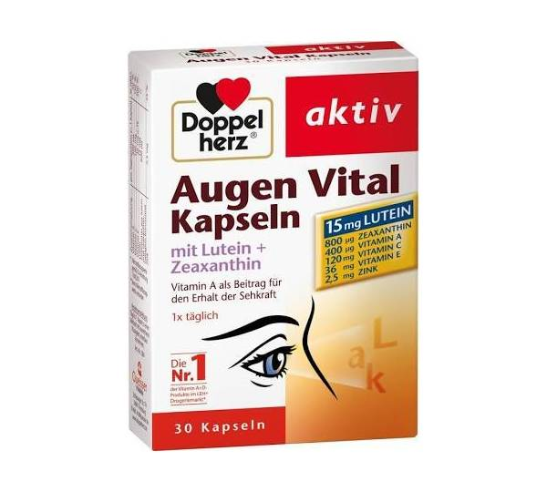 doppelherz aktiv augen vital kapseln test. Black Bedroom Furniture Sets. Home Design Ideas