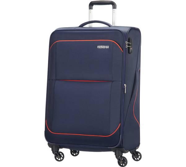 american tourister by samsonite sunbeam spinner erweiterbar 69 cm test koffer mit 4 rollen. Black Bedroom Furniture Sets. Home Design Ideas