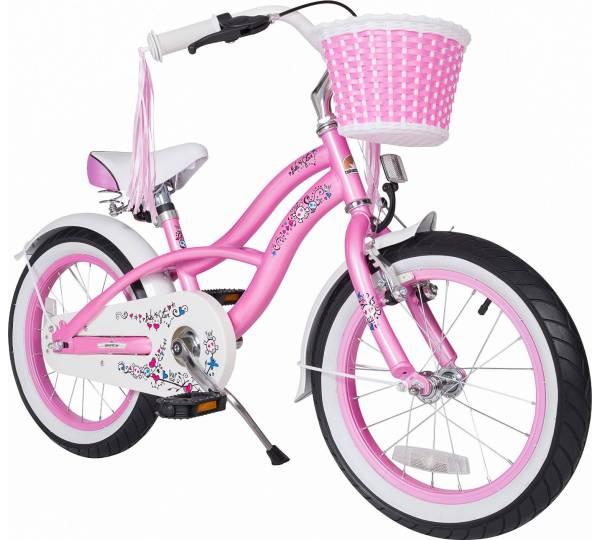 bike star 16 zoll kinder fahrrad deluxe cruiser edition. Black Bedroom Furniture Sets. Home Design Ideas