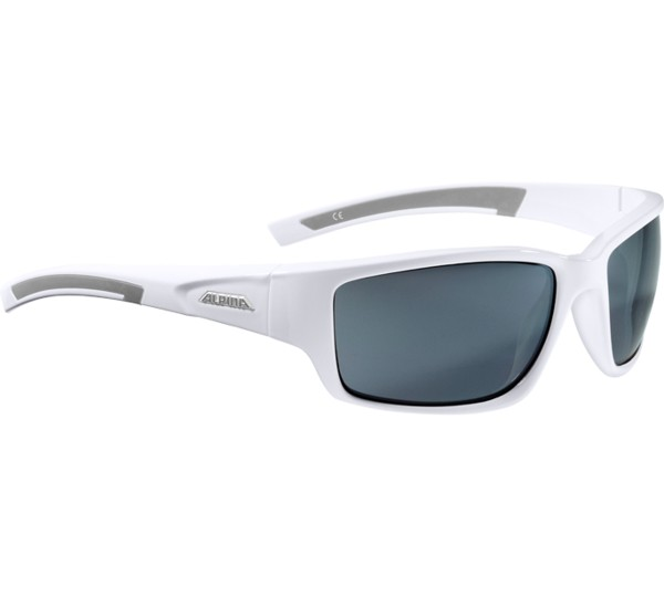 Alpina Amition Keekor Sonnenbrille, White-Grey, One Size