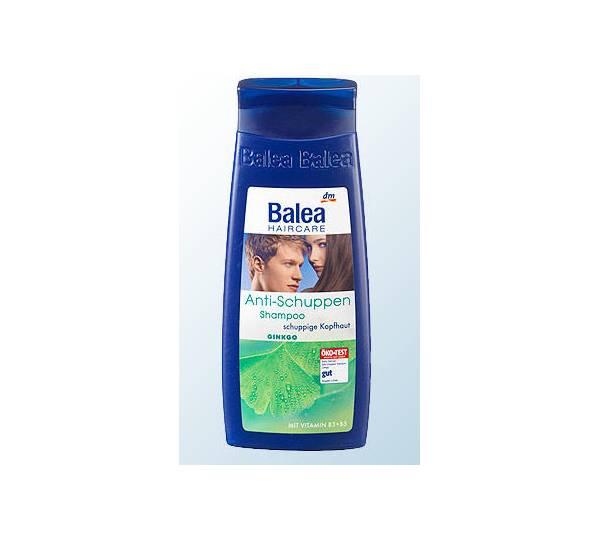 dm balea haircare anti schuppen shampoo ginkgo test. Black Bedroom Furniture Sets. Home Design Ideas