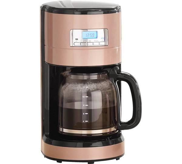 MIA Filterkaffeemaschine Prodomus Retro KF 1743RG, 1,8l