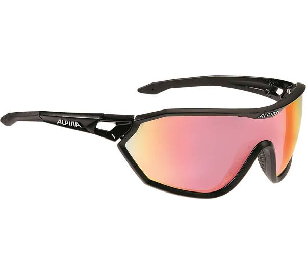Alpina S-Way QVM Sportbrille Silber YBG3I