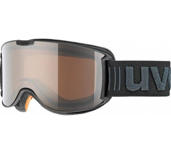 Uvex Sportbrille »Skyper Pola Goggle«, schwarz, schwarz