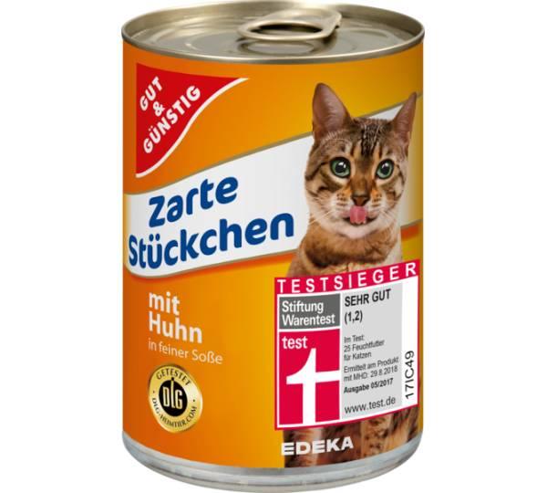 Edeka Gut Gunstig Zarte Stuckchen Mit Huhn In Feiner Sosse Test