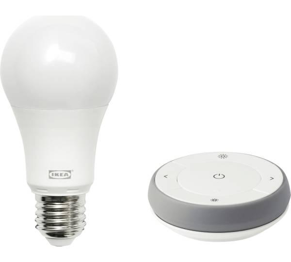 Ikea Trådfri Dimmer-Set, Farb- und Weißspektrum grau/weiß Test ...