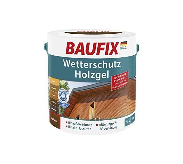 Baufix Wetterschutz Holzgel Nussbaum Test