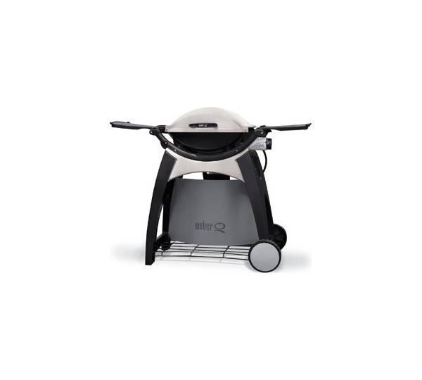weber q 200 premium mit grillwagen 20001 test. Black Bedroom Furniture Sets. Home Design Ideas