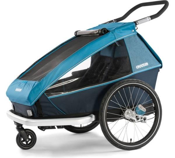 Regenverdeck für Kinderanhänger Croozer Kid for 2 Zweisitzer Modell 2010 NEU
