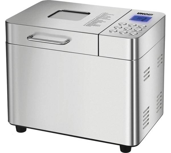 Silber Edelstahl Profi Cook PC-BBA 1077 Brotbackautomat