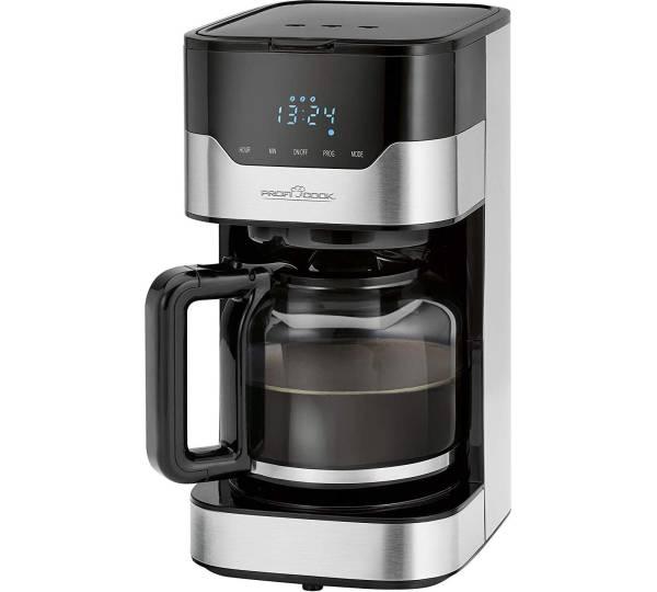 ProfiCook PC-KA 1120 Kaffeeautomat Edelstahl//schwarz Filterkaffeemaschine