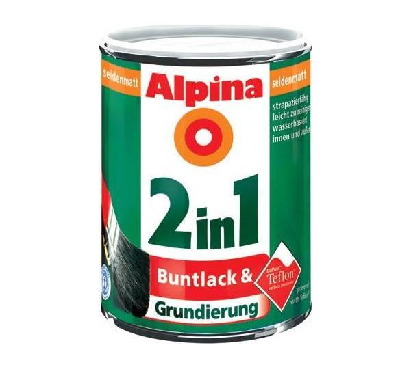 alpina 2 in 1 buntlack grundierung reinwei seidenmatt test. Black Bedroom Furniture Sets. Home Design Ideas