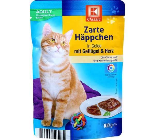 Kaufland K Classic Zarte Happchen In Gelee Mit Geflugel Herz
