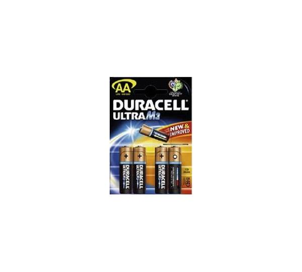 duracell alkaline batterie ultra m3 mignon aa r6 m3 um4 test. Black Bedroom Furniture Sets. Home Design Ideas