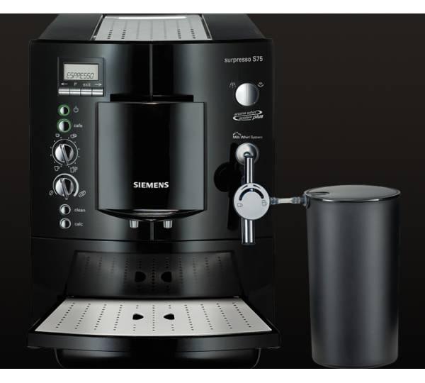 Siemens Surpresso S75 im Test ▷ ∅ Note