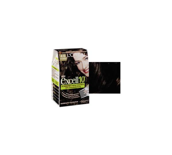 L 39 or al excell10 39 10 minuten creme coloration mittelbraun for 10 minuten haarfarbe