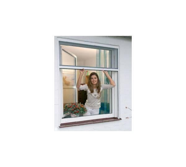 hecht international alu insektenschutzrollo f r fenster 130 x 60 cm test. Black Bedroom Furniture Sets. Home Design Ideas