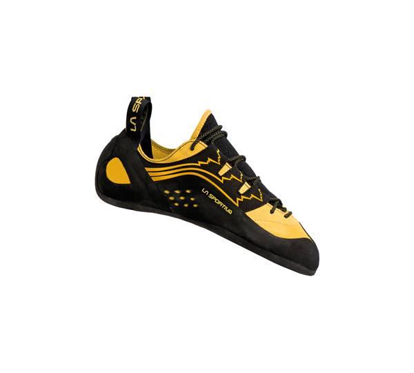 La Sportiva Katana Laces Gelb, Kletterschuh, Größe EU 35 - Farbe Yellow-Black Kletterschuh, Yellow - Black, Größe 35 - Gelb