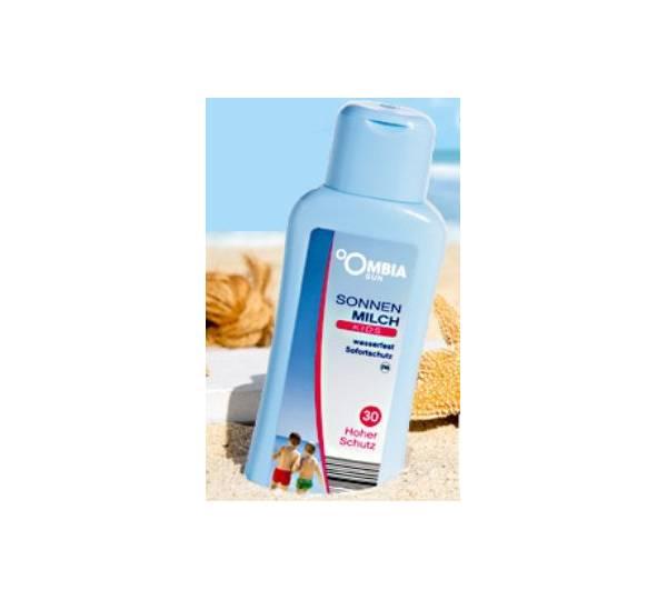 Aldi Süd / Ombia Sun Sonnenmilch für Kinder LSF 30 Test
