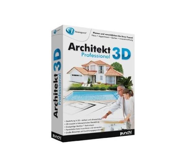Avanquest architekt 3d professional test for Architekt gartendesigner 3d