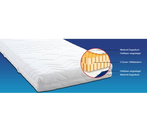 mfo matratzen factory outlet vita san latex medium test. Black Bedroom Furniture Sets. Home Design Ideas