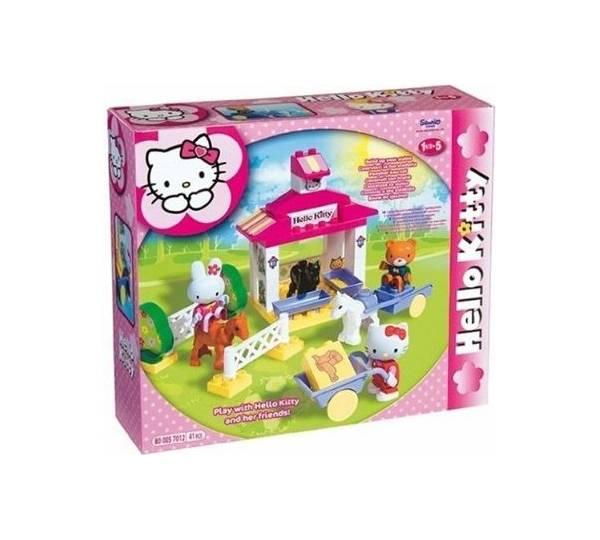 Big spielwaren play big bloxx hello kitty ponyhof test - Hello kitty fernseher ...