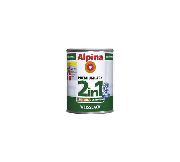 Alpina Premiumlack 2in1 Weisslack Seidenmatt Test Testberichte De