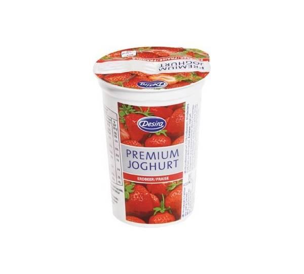Aldi Süd / Desira Premium Joghurt Erdbeer Test