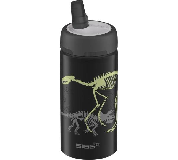 sigg new active top trinkflasche dino glow. Black Bedroom Furniture Sets. Home Design Ideas