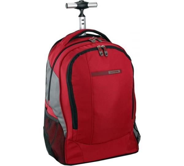 samsonite laptop rucksack auf rollen wander full. Black Bedroom Furniture Sets. Home Design Ideas